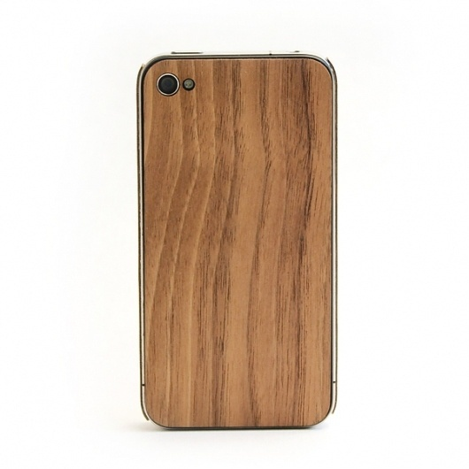 Lazerwood on the Behance Network #iphone #wood
