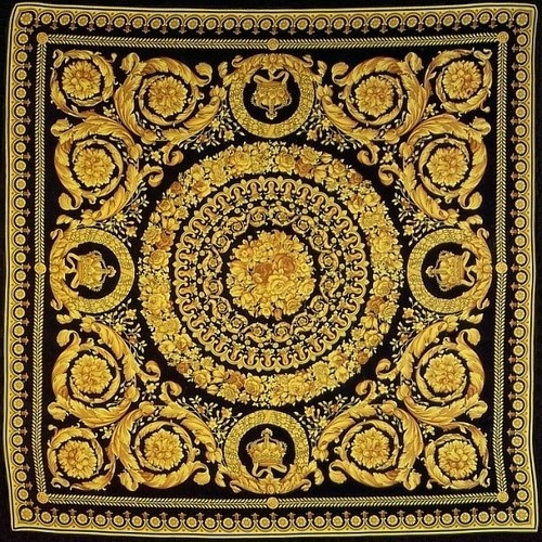 Pattern Style #pattern #black #versace #golden #gold #fashion #style
