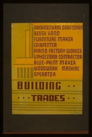 American Memory Digital Item Display - 98518830 #lettering #wpa #poster