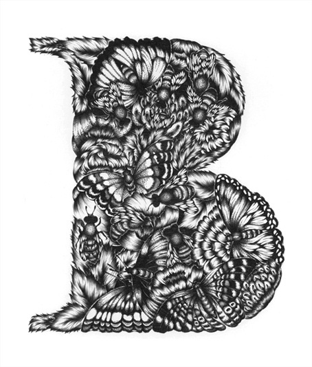 Typeverything.com -Â B by Yuko Michishita. - Typeverything #illustrations #typography