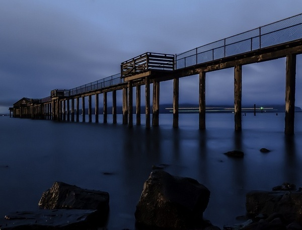 Overcast morning on the coast by Matthew White #photography