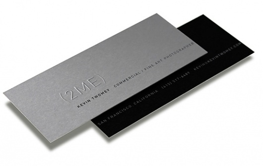 Kevin Twomey : Business Card #business #card #design #kevin #twomey #photographer