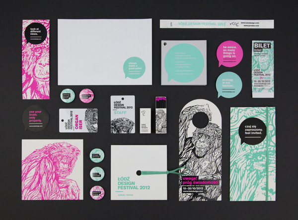 Ortografika - The Design Blog #print #branding #poster #monkey #draw