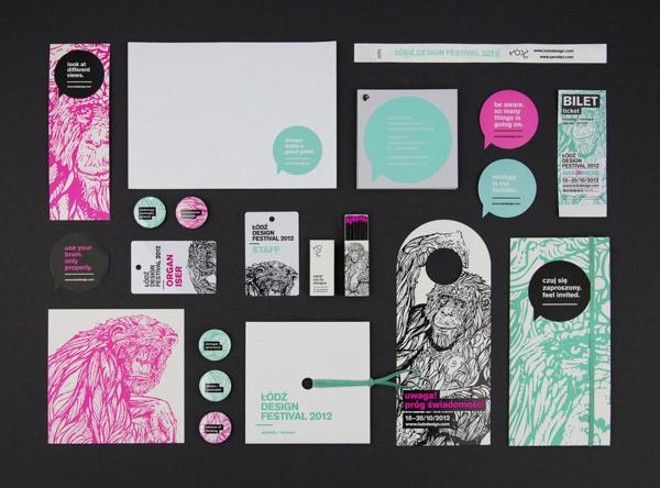 Ortografika - The Design Blog #print #branding #poster #monkey #draw