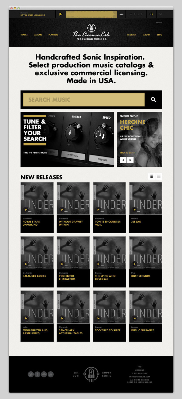 The License Lab #website #layout #design #web
