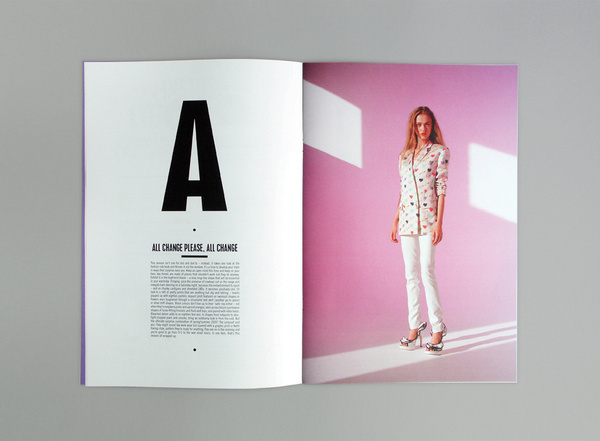 214 Magazine & Window installation 6 #print #editorial #magazine