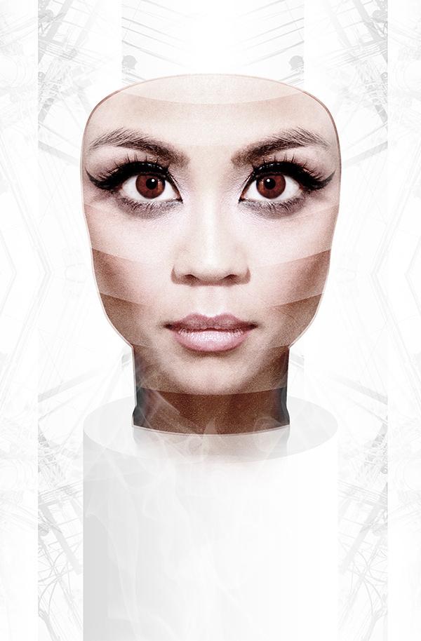 Mask on the Behance Network #mask #futuristic #cyborg #technology