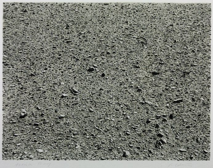 'Desert', Vija Celmins, 1975 | Tate