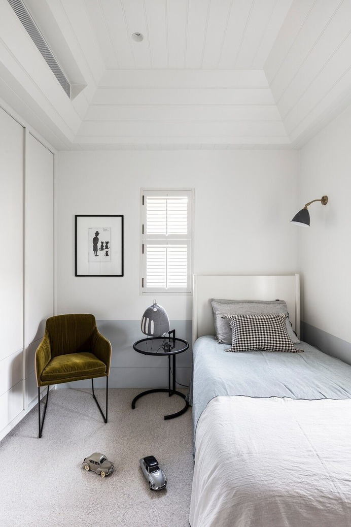 Darling Point House - Alteration and Addition of an Existing Victorian Cottage, kids bedroom