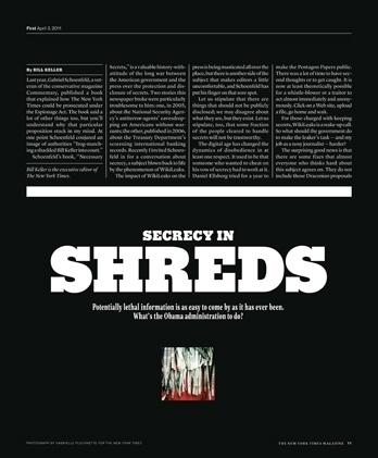 New York Times Magazine « Studio8 Design #print #magazine