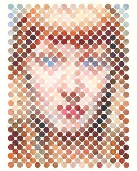 Nathan Manire | PICDIT #design #portrait #painting #art #circle