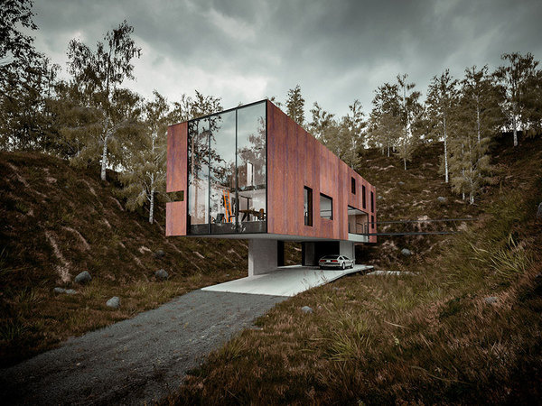 House for a Photographer / Hyde + Hyde #architecture