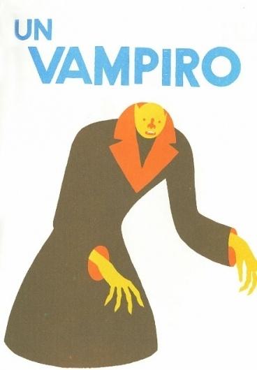 Blexbolex, Illustrator. Good. | Allan Peters #vampire #illustration