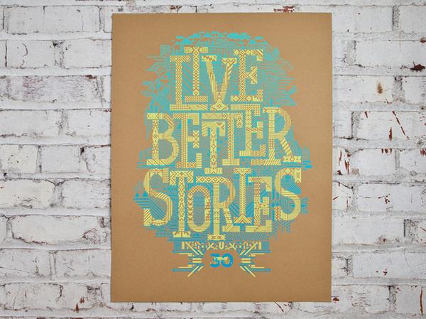 Description #print #poster #typography