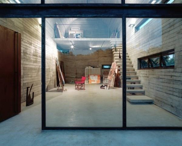 Art Warehouse in Greece2 #interior #concrete #design #building #architecture #greece #decoration
