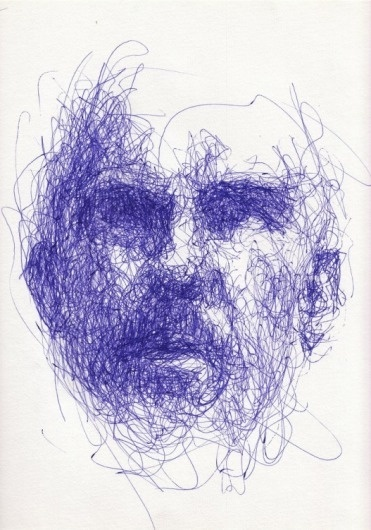 interesting use of line #steve #jobs #fabian #pen #valkenberg #scribble #sketch
