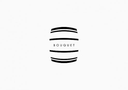 Logos 2010 - 2012 on the Behance Network #f33 #black #wine #brand #bouquet #identity #murcia #logo