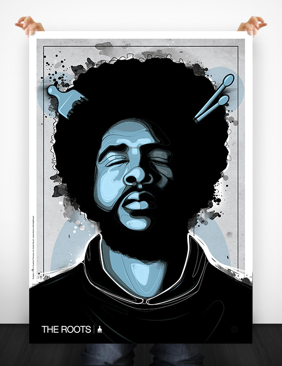 THE ROOTS ILLUSTRATION