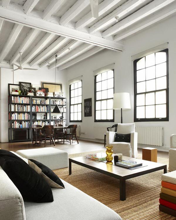 miss design interior new york style barcelona loft 8 #loft