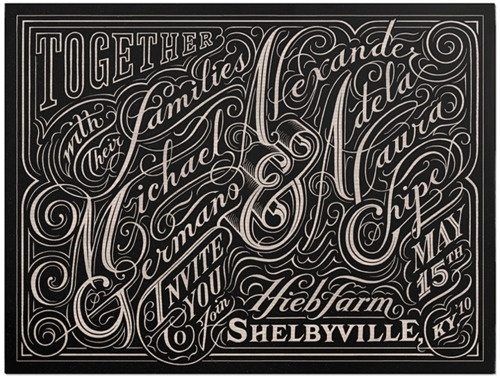 Typeverything.com Hand-lettering by John... - Typeverything #by #drawn #john #passaflume #type #hand