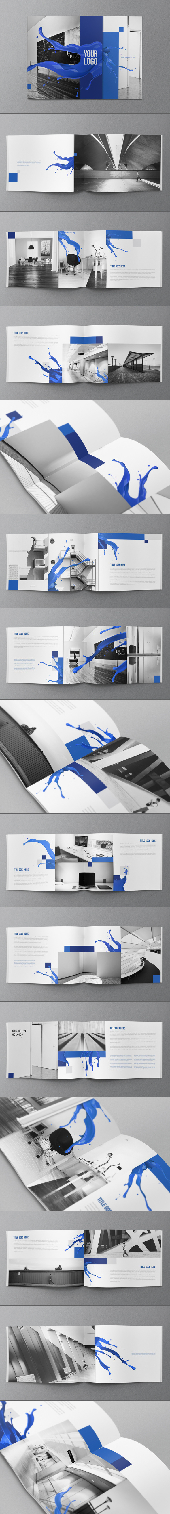 Creative Fresh splash Brochure #brochures #designs