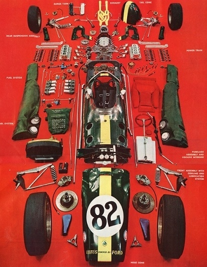 Things Organized Neatly #diagram #exploded #car #lotus #parts