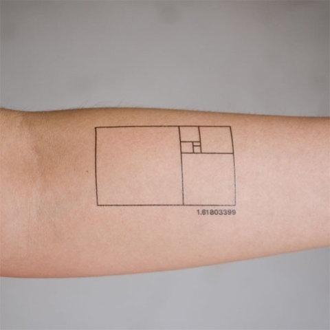 jjjjpeg — Addicted To Consumerism #tattoo #maths #phi