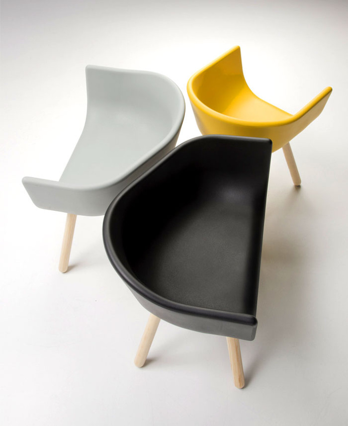 Tulip Multifunctional Armchairs by Chairs & More - #design, #furniture, #modernfurniture