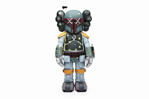Image of OriginalFake KAWS Boba Fett Companion Tokyo Exclusive #toys #boba #companion #wars #fett #originalfake #tokyo #star #film #kaws #lucas