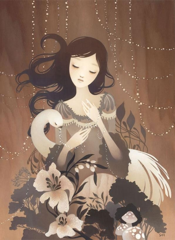 Paintings by Amy Sol #sol #amy #paintings