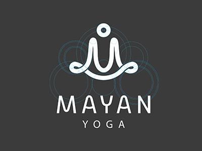 Mayan yoga #mark #vietnam #circle #gird #branding #design #grid #system #brand #symbol #logtype #identity #logo #yoga