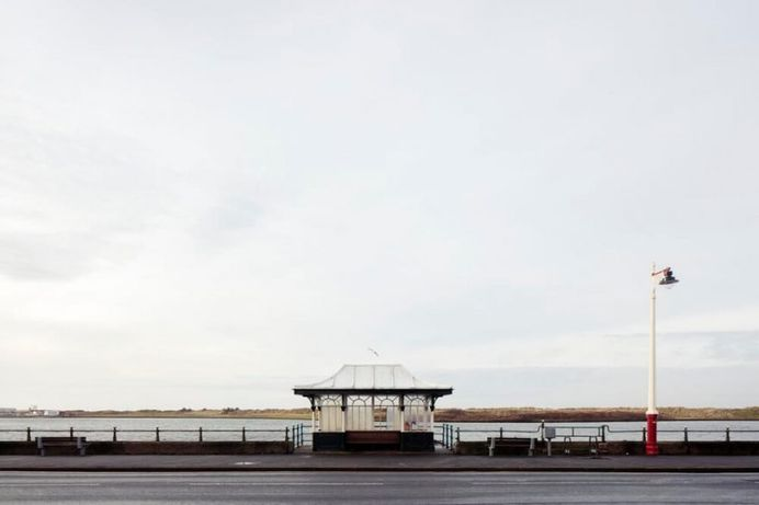 Will Scott Captures The Varied Landscape of The British Seaside Shelters