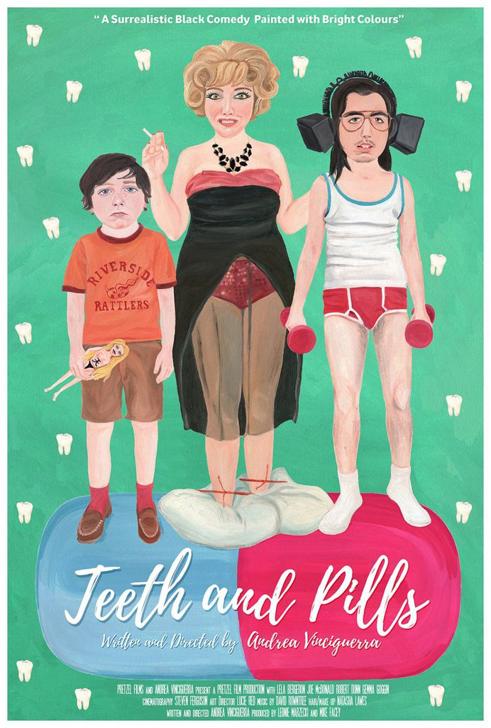 Extra Large Movie Poster Image for Teeth and Pills