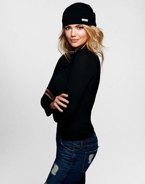 Kate Upton Stands Up to Cancer with Neff #fashion #model #girl