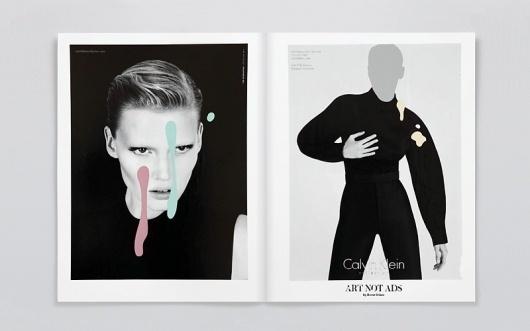 NR2154 #calvin #klein #magazine