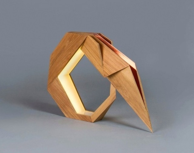 oru-8 #wood #furniture #origami