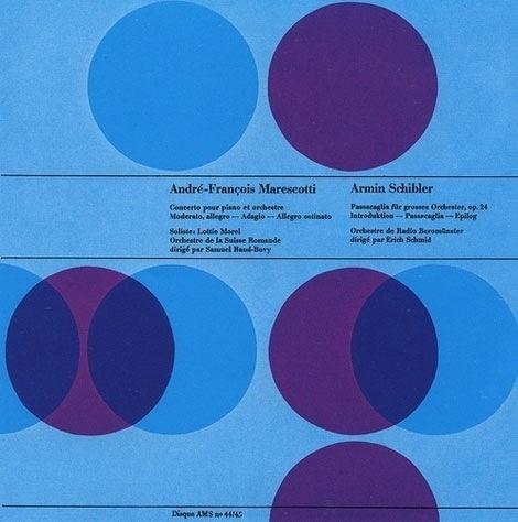 grain edit · Joseph Muller Brockmann - album cover design #muller #brockmann