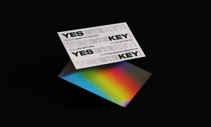 Key, Namecard Design - Mindsparkle Mag Hùng Key is the designer behind these very original business or namecard called Key, which is the last name. #logo #identity #branding #design #color #photography #graphic #design #gallery #blog #project #mindsparkle #mag #beautiful #portfolio #designer