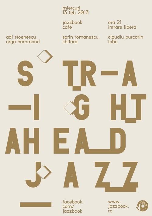 jazzbook #jazz #print #design #poster #music #typography