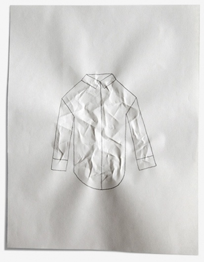 It's Nice That : We dare you not to fall in love with Tim Lahan's super-charming illustration #wrinkled #shirt