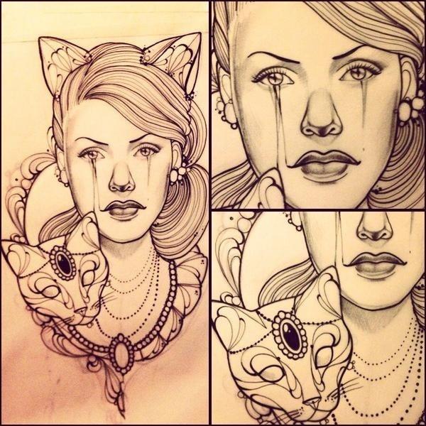 Lady Ink #ink #giuliafederica #cat #tattoo #juliet #misss #lady