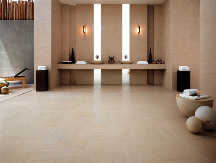 Porcelain Floor Tiles With Stone Effect