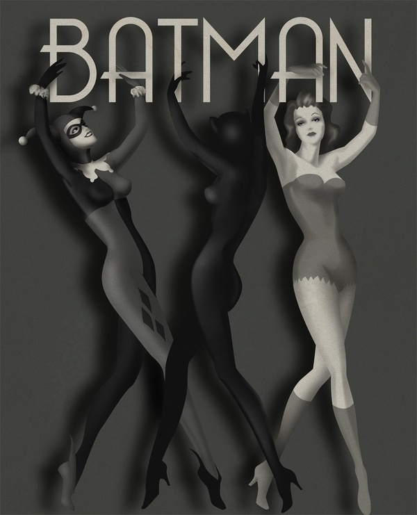 Exercises in Style on the Behance Network #vintage #batman #typography