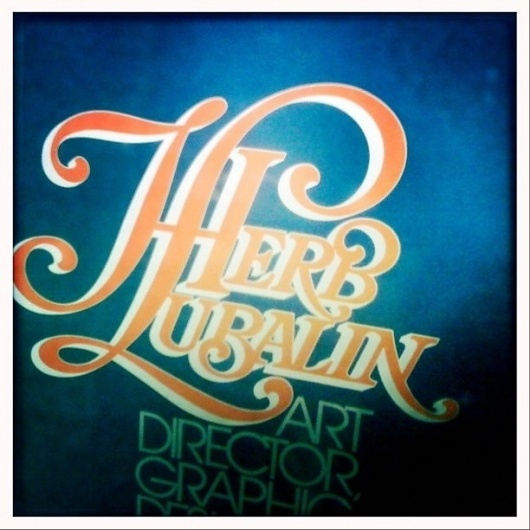 H. Lubalin | Flickr - Photo Sharing! #sign #type #letters #typography