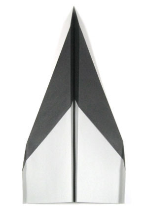 How to make a traditional rocket paper airplane (http://www.origami-make.org/howto-paper-airplane.php)