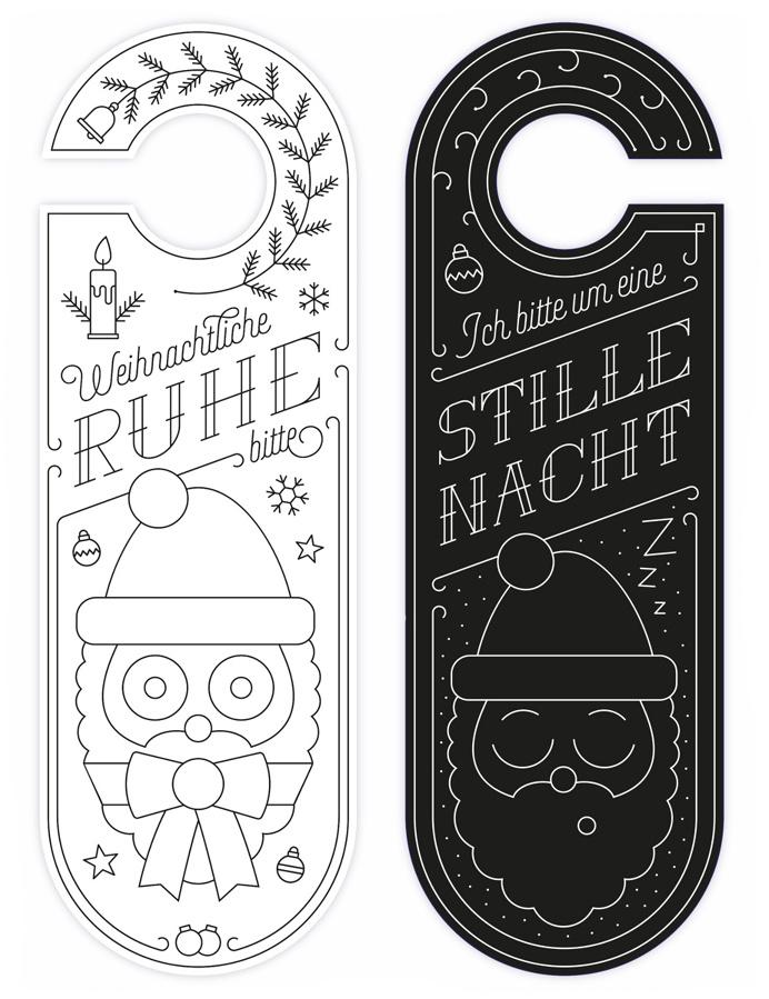 best door card christmas line hanger images on designspiration