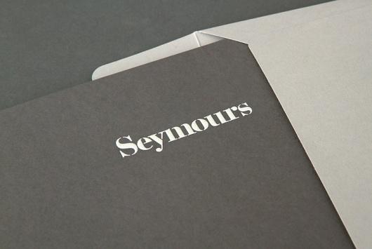 Spin — Seymours #logo #identity #branding #stationery