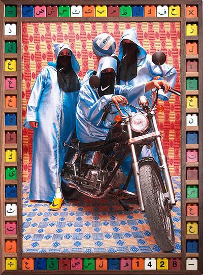 Hassan Hajjaj: Nikee Rider #frame #colour #contemporary