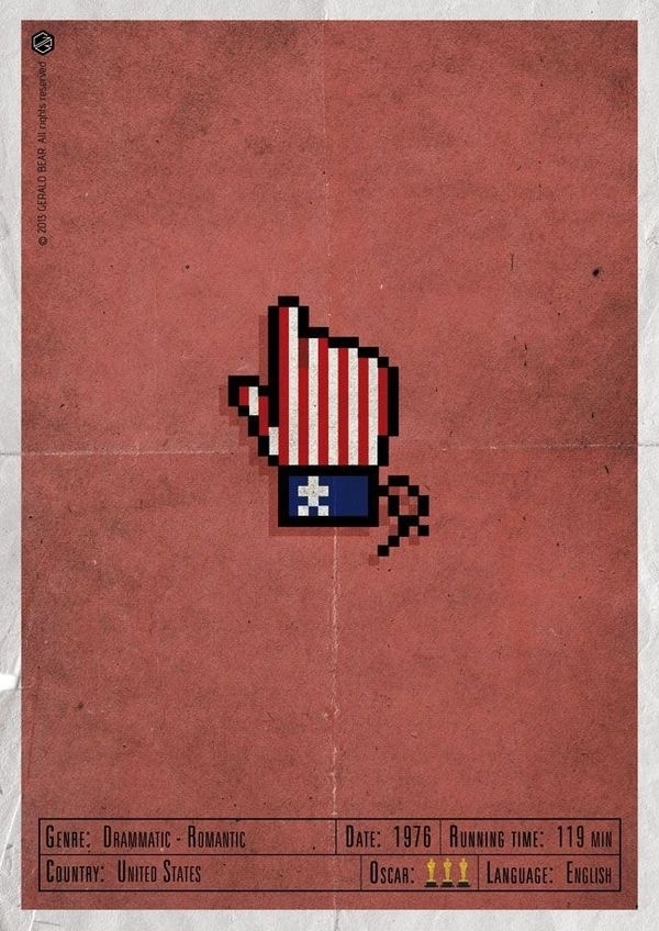 #H-and Movie, #Gerald Bear, design, #poster, #movie, drammatic, web, #hand, box, vintage, #oscar