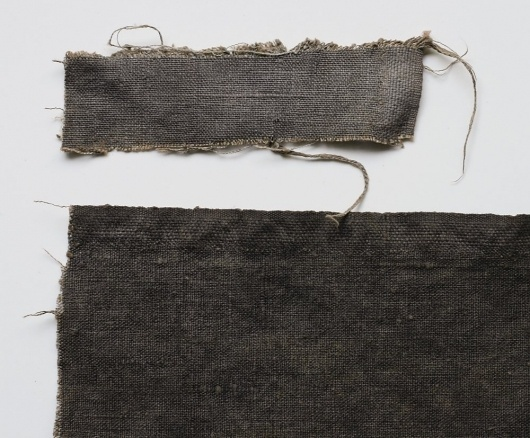 Artist Highlight: Loraine of grijs | #minimalist #fabric #textile #grey